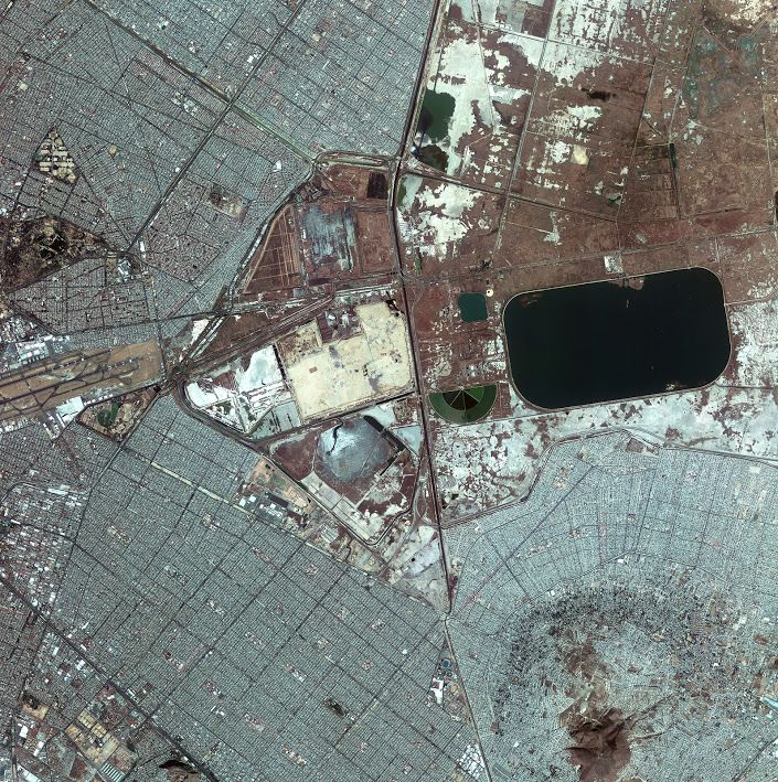 Lake Texcoco Drained