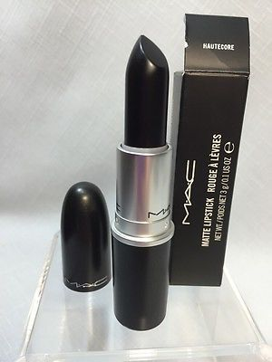 BNIB MAC Hautecore Matte Lipstick 2014 Black Friday Collection w/Receipt