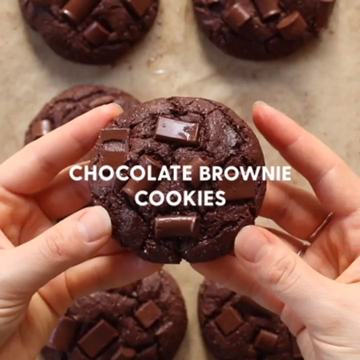 Delicious Soft Double Chocolate Fudge Cookies