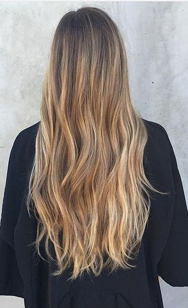 Trendy Hair Color Ideas 2017/ 2018 : beach blonde hair