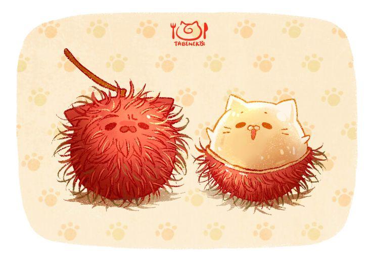 Delicious hairballs. (。+・`ω・´)