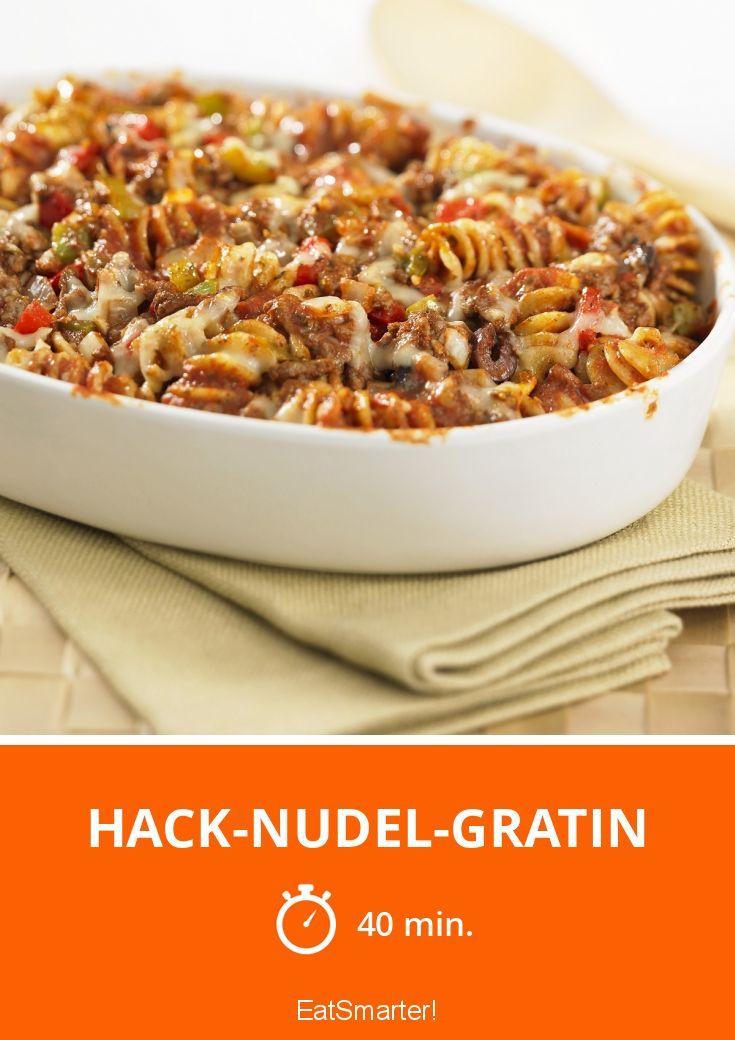 Hack-Nudel-Gratin - smarter - Zeit: 40 Min. | eatsmarter.de