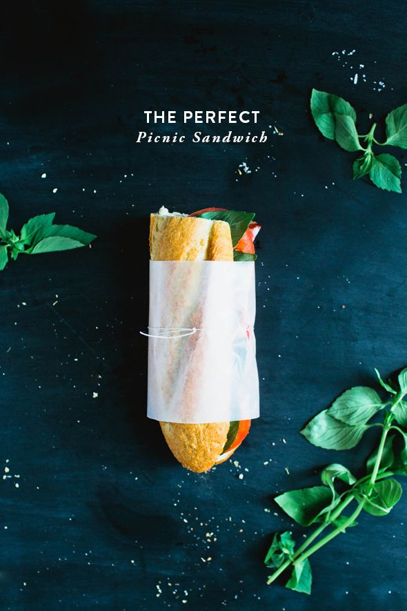 The Perfect Picnic Sandwich from Say Yes | An extra-special caprese sandwich that sounds amazing!