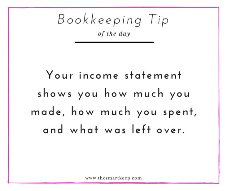 402 best Bookkeeping Accounting 101 u003d Fun! images on Pinterest - personal profit and loss statement