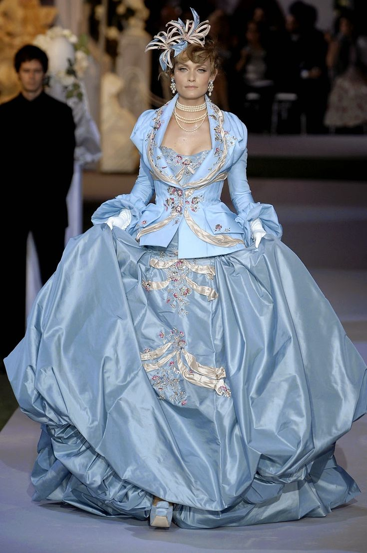 120 best John Galliano for CD F/W 2007-08 Haute Couture ...