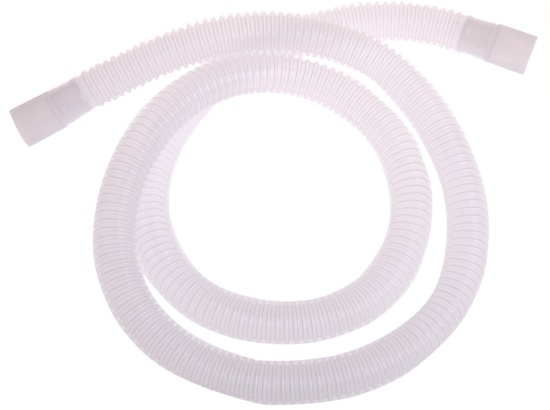 """60"""" Corrugated Ventilator Hose.  This 60"""" Corrugated Ventilator Hose can be purchased in bulk or packaged with a circuit.  Price : $142.10"""