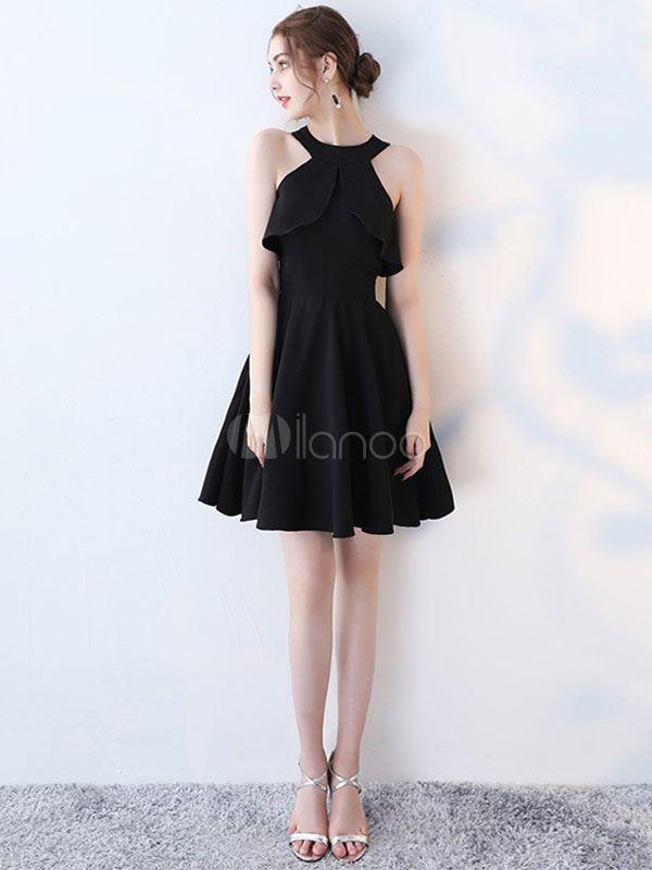 kleine schwarze kleid kalte schulter ausgeschnitten heimkehr