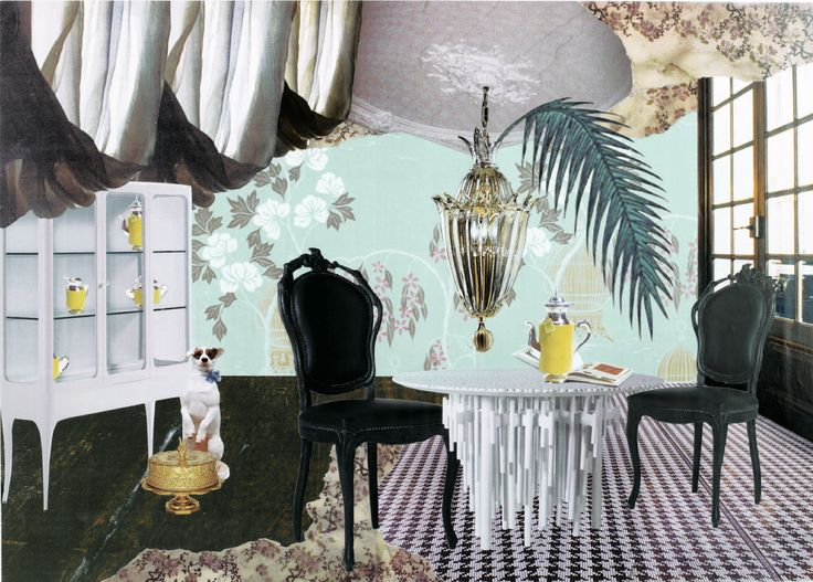 """Wonder Rooms"" by Audrey Soubiran published in ELLE Decoration"