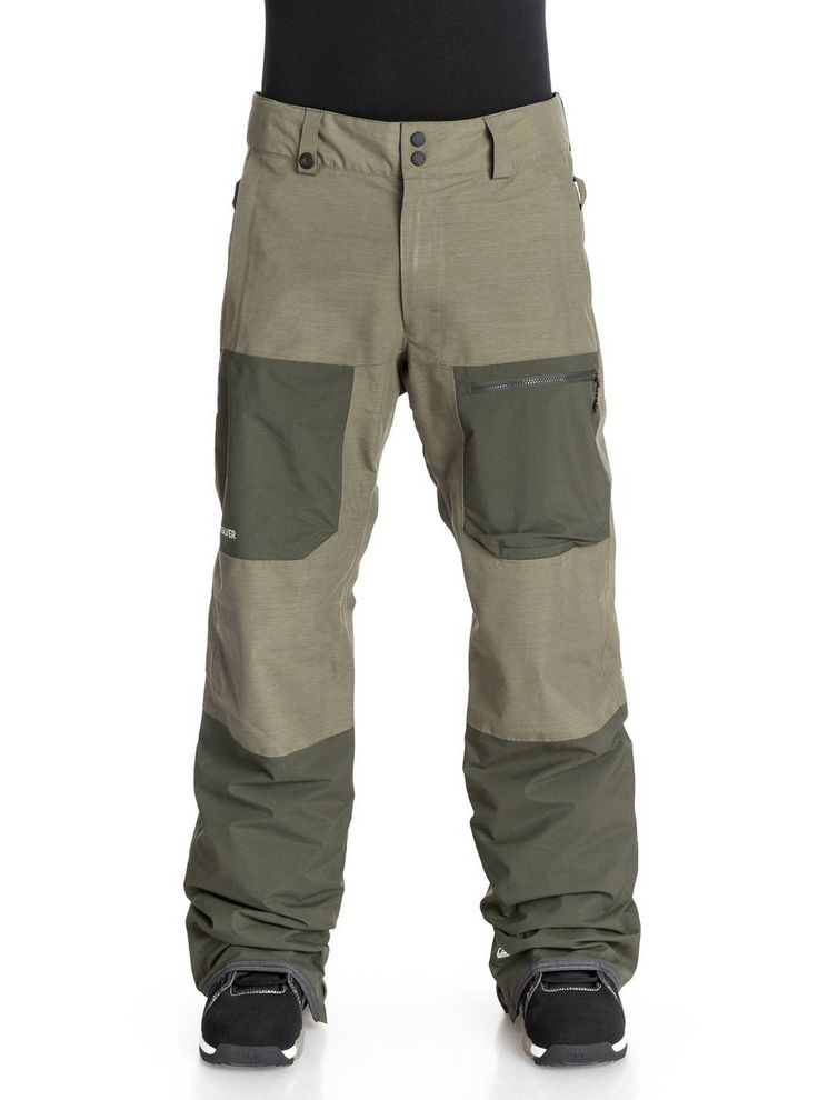 Like its upper half, the  Quiksilver Travis Rice Invert 2L Gore-Tex snow pants will keep you cool when its clear and warm outside. Get the jacket and pant combo at Quiksilver.