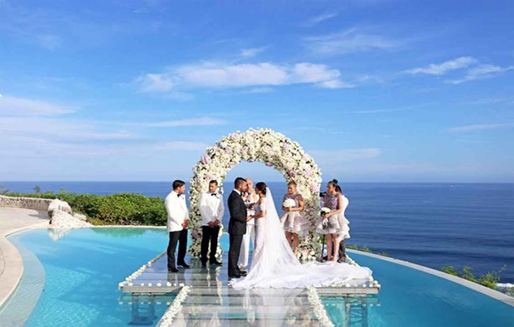 Elegant Beach Wedding Kuta Indonesia
