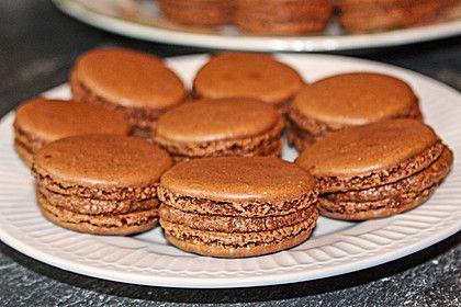 Schoko-Nutella-Macarons – #SchokoNutellaMacarons – #SchokoNutellaMacarons