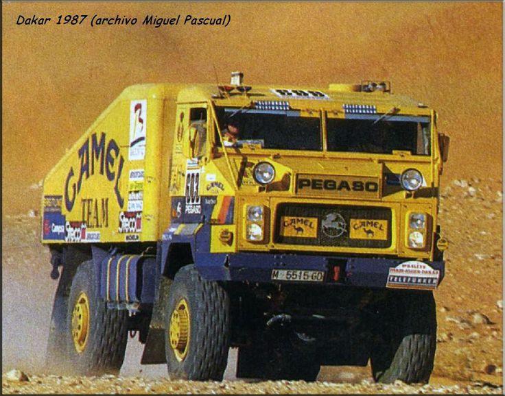 """Toni Bareta Slot: Pegaso 7222 Turbo """"Camel Team"""" Dakar 1987"""
