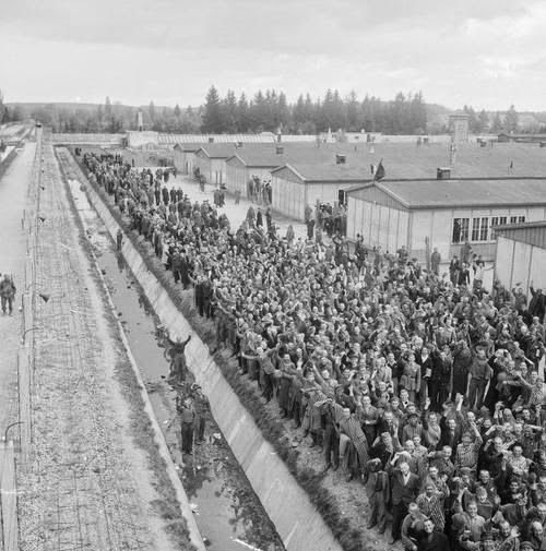 Where Was The Auschwitz Camp Located: This Scene Shows The The Concentration Camps For The Jews