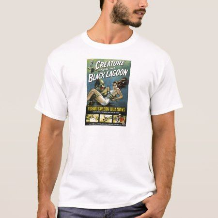 Vintage Movie Creature from Black Lagoon T-Shirt - tap, personalize, buy right now!