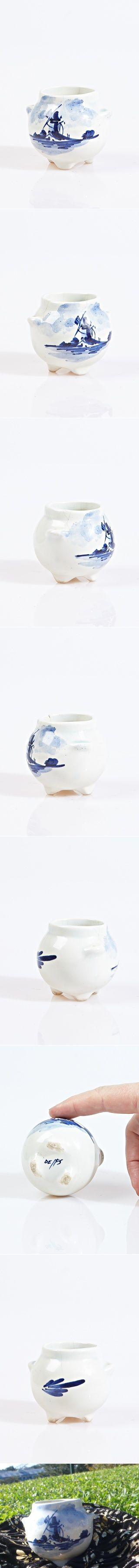 delft miniature vase now at auction on ebay