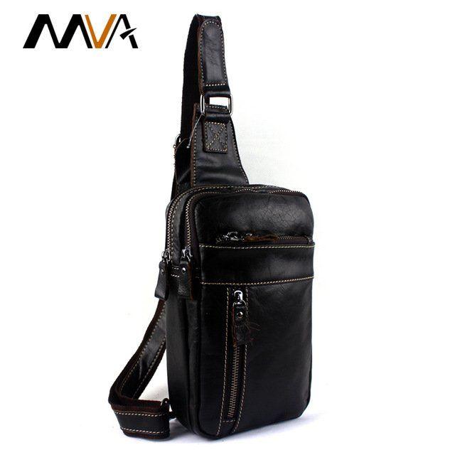 Leather+Men+Bags+Crossbody+Bag+Men+Messenger+Bags+Leather+Phone+Chest+Pack+Waist+Small+Belt+Bag