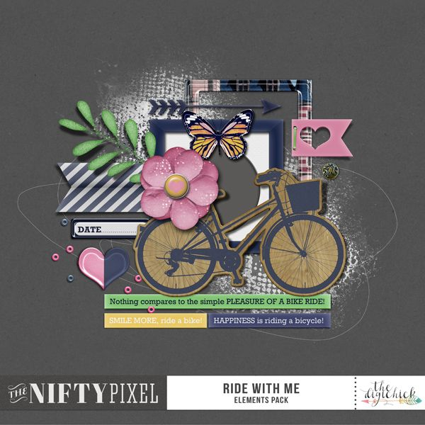 <p> 	Ride With Me Bundle for Digital Scrapbooking by The Nifty…