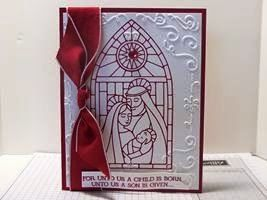 Peanuts and Peppers Papercrafting: Try It Thursday- Stampin' Up! Gentle Peace Christmas Card And Merry Christmas!