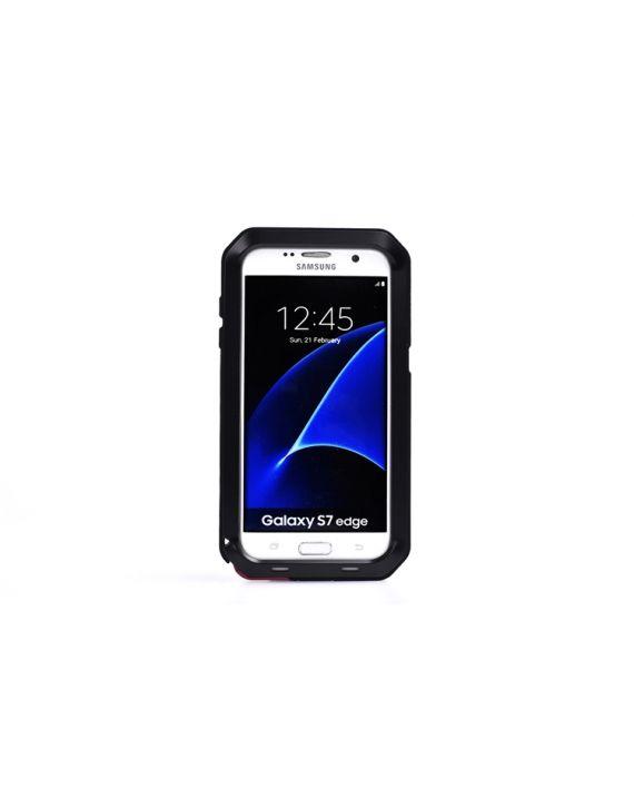 Husa metalica pentru Galaxy S7 Edge - Lunatik Extreme Protection