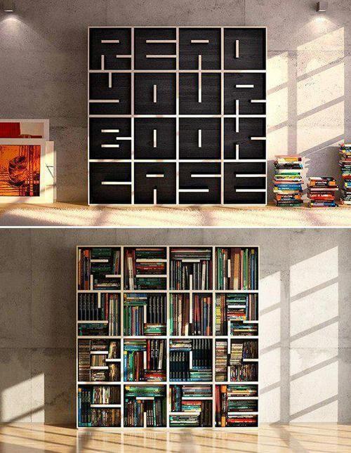 Whatu0027s Written On The Empty Bookcase?
