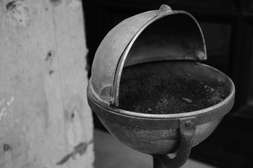 The ashtray of CHROME HEARTS