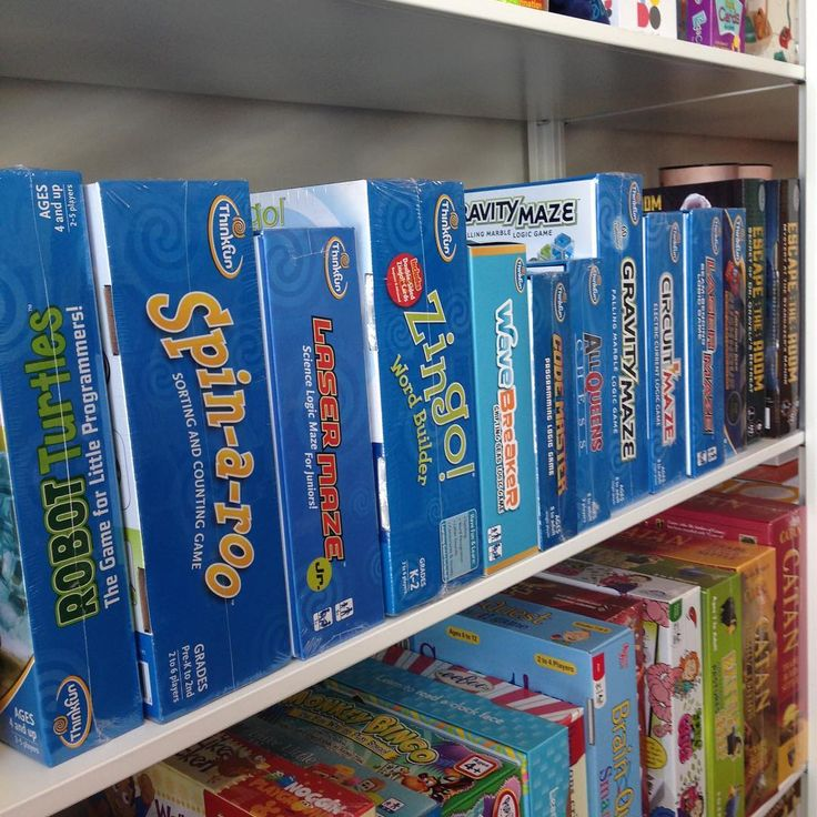 Some of the #ThinkFun games we stock