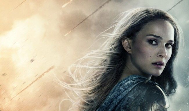 #NataliePortman salue l'effort de #Marvel de créer des femmes fortes, surtout dans #ThorLeMondeDesTenebres
