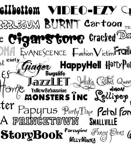 Yazı Fontu Kullanmanın 10 Kuralı - Grafikerler.org