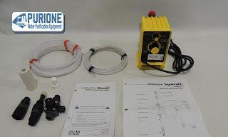 Dosing Pump LMI Milton Roy P133-398TI adalah pompa dosing kimia yang digunakan untuk kapasitas 1,6 liter per jam pada tekanan kerja hingga 7,6 bar - http://www.purione.com/2017/04/dosing-pump-lmi-milton-roy-p133-398ti.html