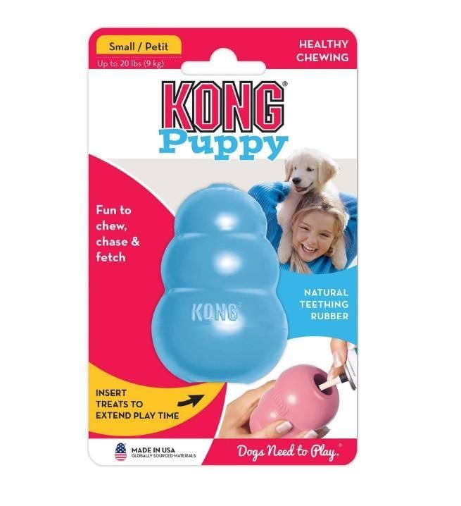Xs L Kong Puppy Dog Toy With Your Choice Of Dog Treat Dog Toys