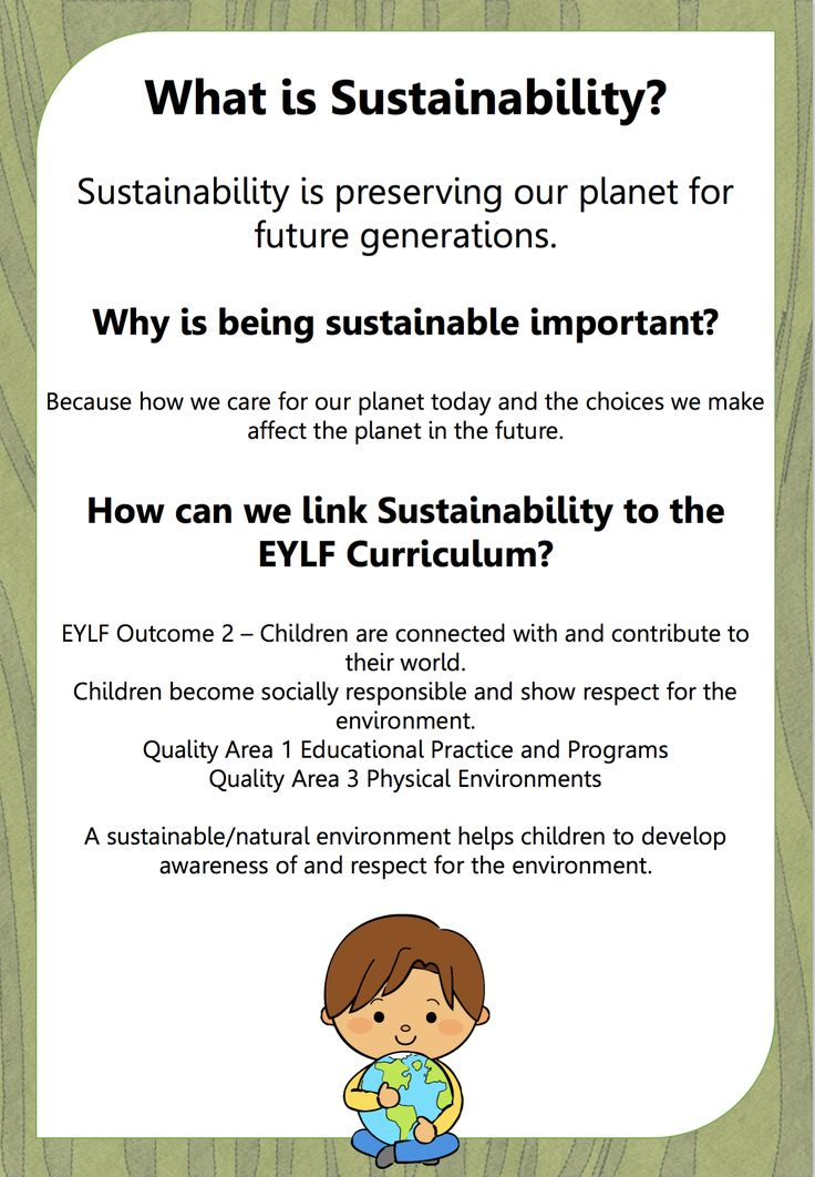 Home :: Resource Type :: Classroom Decorations :: New EYLF Sustainability Resource Pack