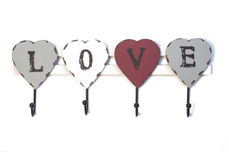 Κρεμάστρα Μεταλλική Love