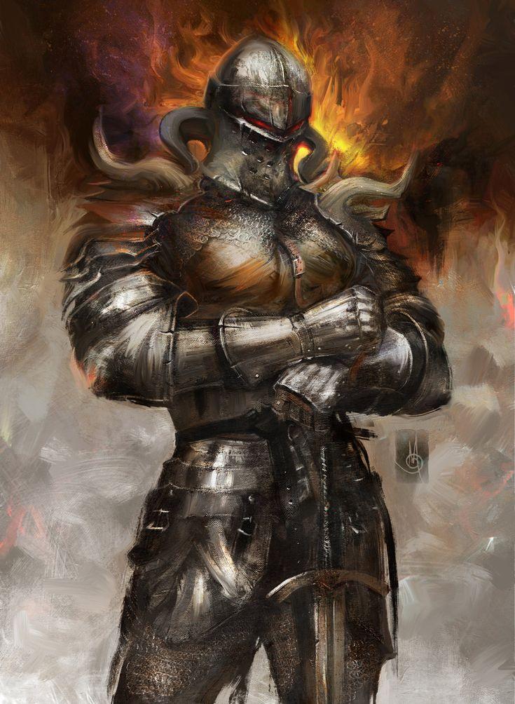 Арт картинки рыцари