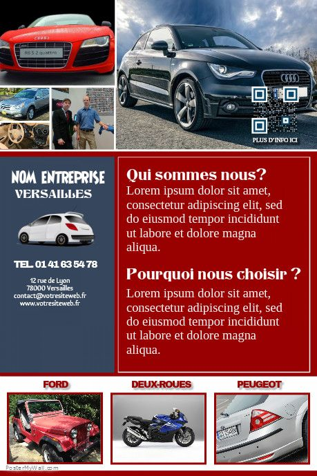 41 best Poster Concession Auto images on Pinterest Posters - auto detailing flyer template