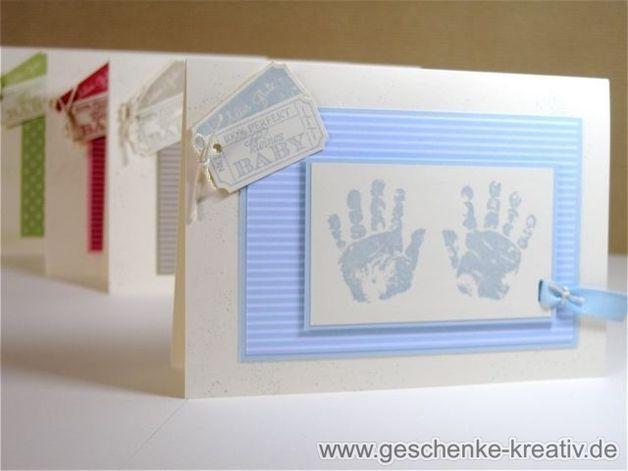 Taufkarte / Karte zur Taufe oder Geburt
