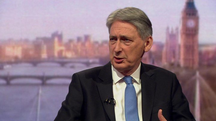 Were not out of austerity tunnel yet  Chancellor Philip Hammond