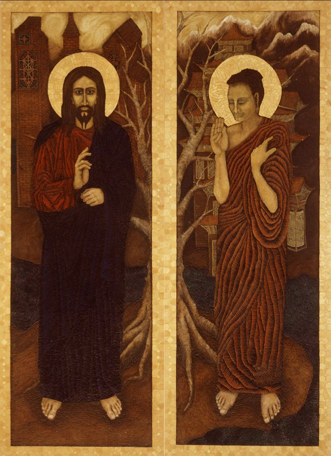 Buddha and Christian Monasticism