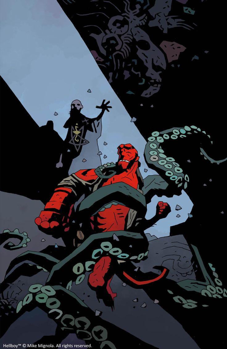 Mantic Games to launch Hellboy Board Game! #hellboy #boardgame #mikemignola #darkhorsecomics