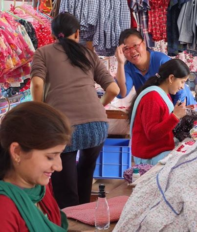 Thanks for keeping us busy!!  Lots of love from our Himalayan Tailoring Centre xxxx  Find out more at http://eternalcreation.com/himalayan-workshop