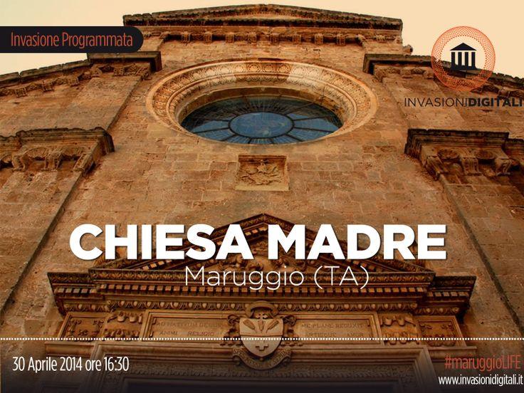 #InvasioniDigitali: Mercoledì 30 Aprile2014 ore 16:30 tutti a #Maruggio (Taranto) per invadere la Chiesa Madre.  INFO:http://www.invasionidigitali.it/it/invasionedigitale/chiesa-madre-ss-natività-di-maria-vergine-maruggio-ta#.U1VDdeZ_sQ4  Hashtag: #MaruggioLIFE #InvasioniDigitali