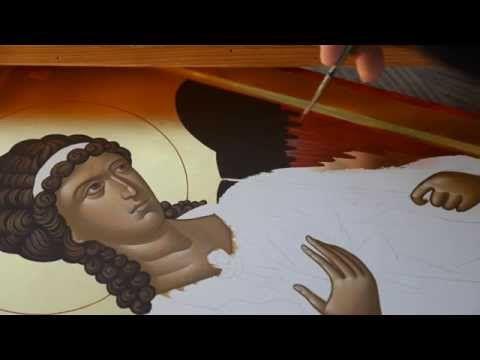 Byzantine Iconography - St Archangel Michael 6/8