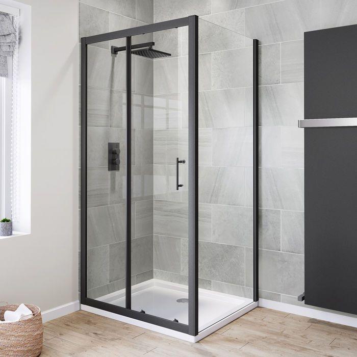 Mcgregor Alex Adli Kullanicinin Bathroom Panosundaki Pin Dusakabin Siyah Dus Duslar