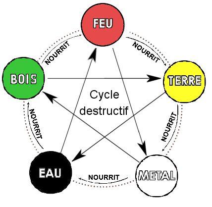 cycle des 5 éléments