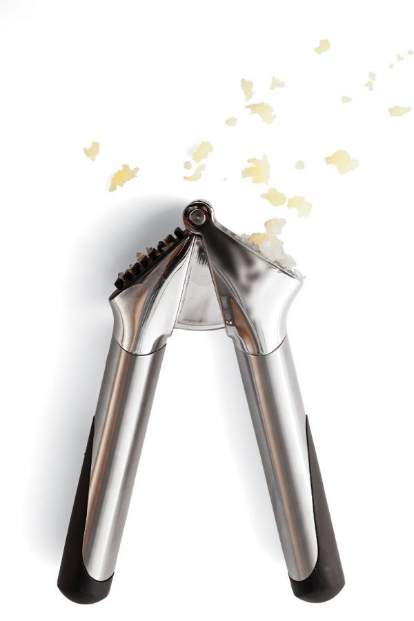 Our favorite garlic press is sturdy, reliable, and self-cleaning.
