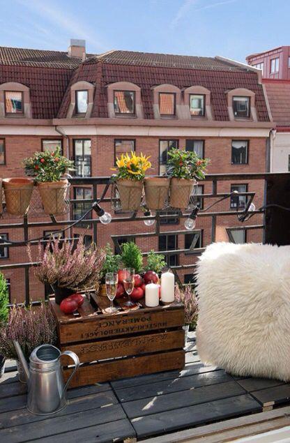 Mejores 23 im genes de terrazas con encanto en pinterest - Balcones con encanto ...