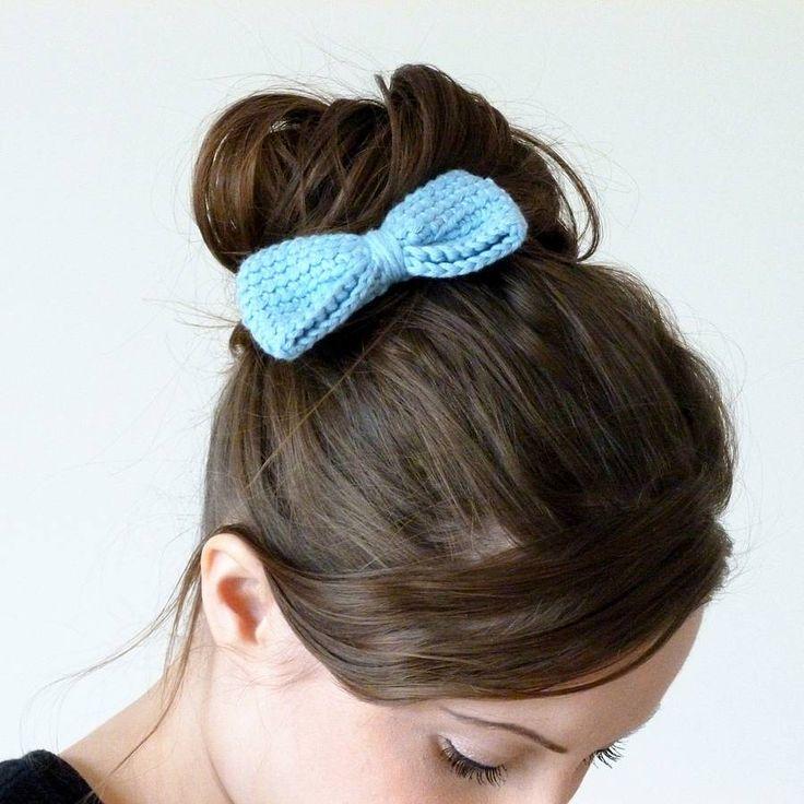 original_crochet-bow-hair-clip.jpg (899×900)