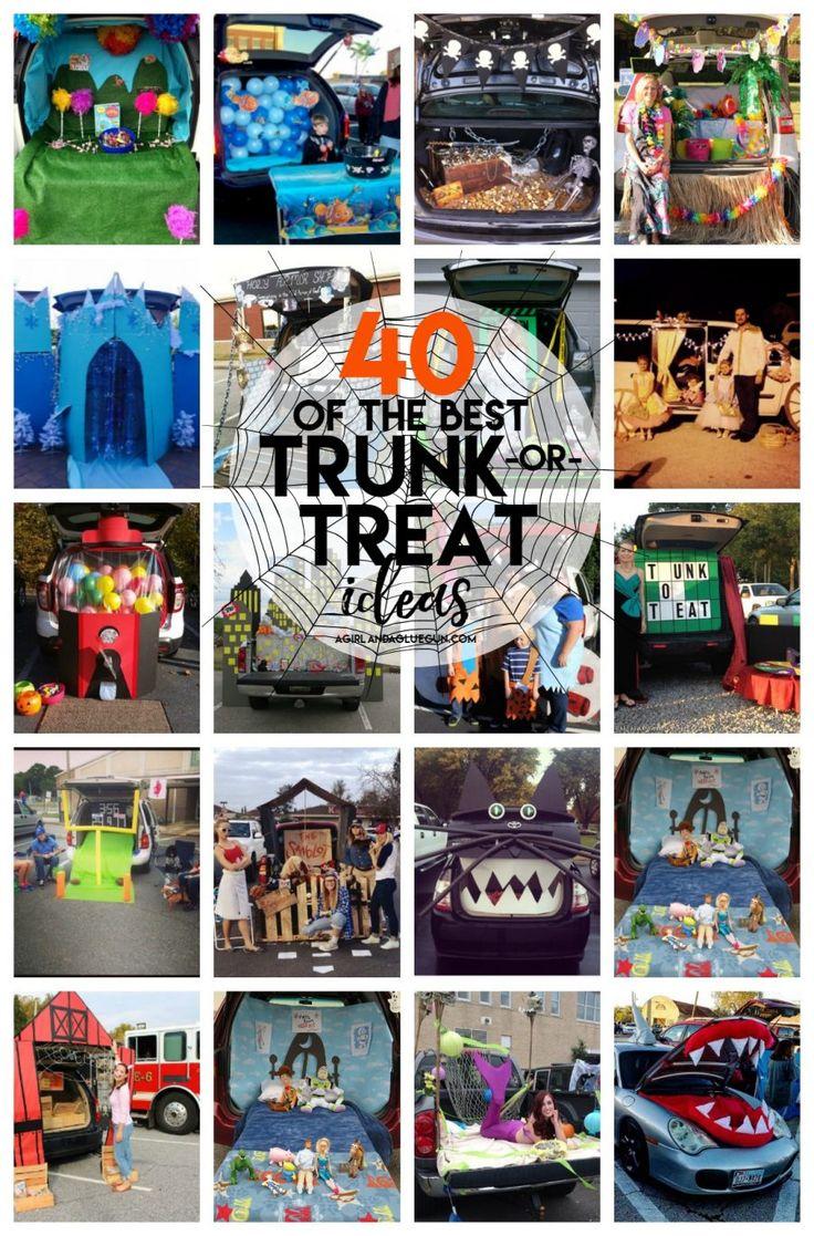 Best 25+ Trunk or treat ideas on Pinterest   Fall festival crafts ...