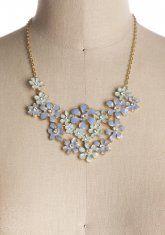 Blue Hydrangea Necklace