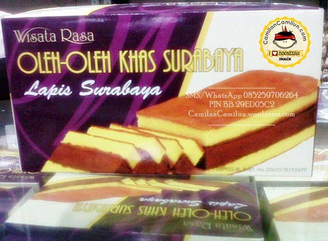 Lapis Surabaya. Camilan Khas Surabaya Surabaya Layer Cake