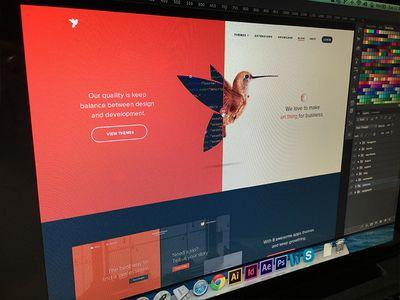 Screen Shot HomePage